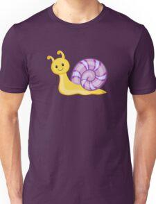 Cute cartoon snail Unisex T-Shirt