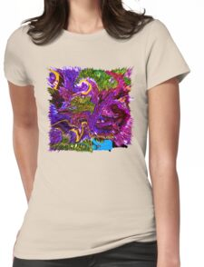 0029 Abstract Design Womens Fitted T-Shirt