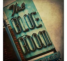 The Blue Room Photographic Print