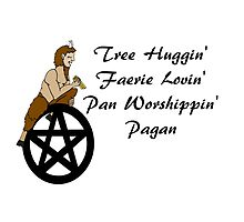 Tree Huggin', Faerie Lovin' Pan Worshipping Pagan by imphavok