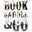Wild West Book Saddle & Go Clutch by George Williams