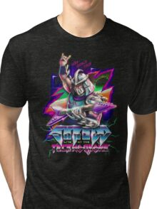 Shredd Live at the Technodrome Tri-blend T-Shirt