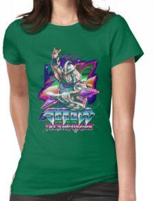 Shredd Live at the Technodrome Womens Fitted T-Shirt