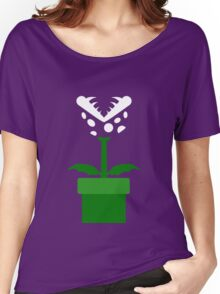 Piranha Plant Women's Relaxed Fit T-Shirt