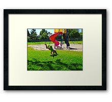 Living Large Framed Print