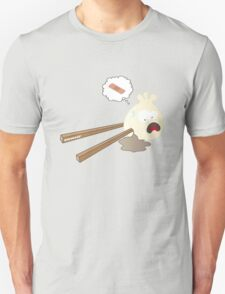 Dumpling hurt by chopsticks T-Shirt