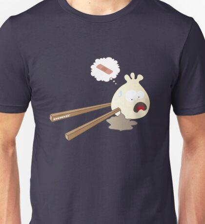 Dumpling hurt by chopsticks Unisex T-Shirt