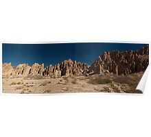 Argentine Mountains Panorama Poster
