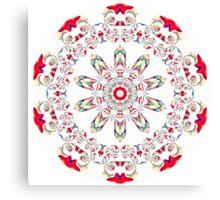 Ribbon Pattern Kaleidoscope 001 Canvas Print
