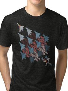Transformation Tessellation Tri-blend T-Shirt