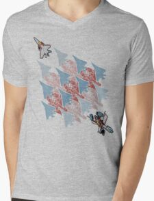 Transformation Tessellation Mens V-Neck T-Shirt