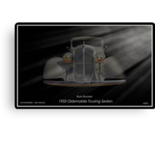 Rum Runner - 1933 Oldsmobile Touring Sedan Canvas Print
