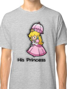 Mushroom Kingdom Couple: Peach Shirt Classic T-Shirt
