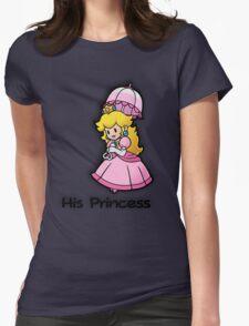 Mushroom Kingdom Couple: Peach Shirt Womens Fitted T-Shirt