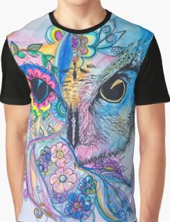 Magestic owl  Graphic T-Shirt