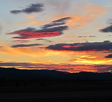 Kalispell Sunset by Sarah N. Hood
