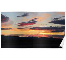 Kalispell Sunset Poster