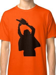 Chainsaw massacre silhouette Classic T-Shirt