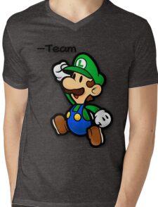 An Italian Bromance Mens V-Neck T-Shirt