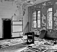 Overturned And Hanging by Paul Lubaczewski