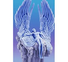 ๑۩۞۩๑BLUE ANGEL..I LAID ME DOWN AND SLEPT.. IPHONE CASE๑۩۞۩๑ by ✿✿ Bonita ✿✿ ђєℓℓσ