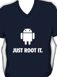 Just Root It. (android - white) T-Shirt