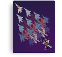 Transformation Tessellation Canvas Print