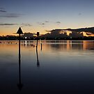Canning River at Twilight by blueeyesjus