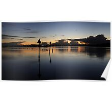 Canning River at Twilight Poster