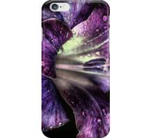 Purple and drops... iPhone Case/Skin