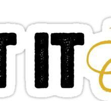 Let it be Sticker