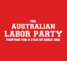 Australian Labor Party Simple Varsity Design Kids Clothes