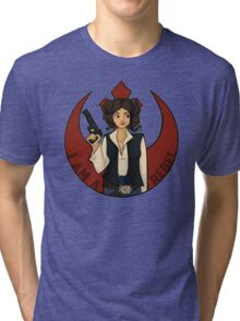 Rebel Girl Tri-blend T-Shirt