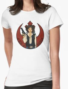 Rebel Girl Womens Fitted T-Shirt