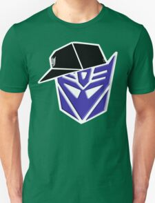 Decepticon G1 OG Transformer W/ Border T-Shirt