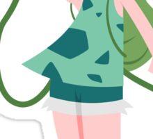 Bulbasaur Girl Sticker