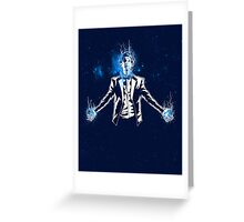 Regenerate Doctor/ The 11th Hour Greeting Card
