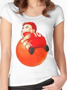 Slam Dunk Baby Women's Fitted Scoop T-Shirt