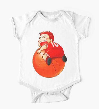 Slam Dunk Baby One Piece - Short Sleeve