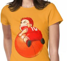 Slam Dunk Baby Womens Fitted T-Shirt