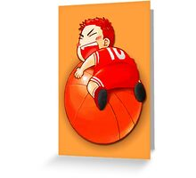 Slam Dunk Baby Greeting Card