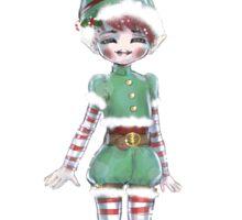 Little Elf Sticker