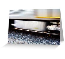 The Unforgivable Bake Me Train Ride - 10 05 13 Greeting Card
