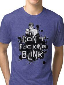 peter capaldi don't blink Tri-blend T-Shirt