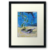 Off- fishial  Framed Print