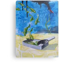 Off- fishial  Metal Print