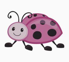 Cute cartoon ladybug One Piece - Short Sleeve