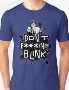 peter capaldi don't blink (clean) T-Shirt