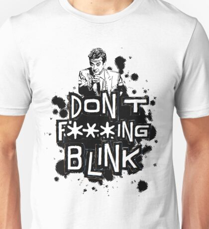 peter capaldi don't blink (clean) Unisex T-Shirt