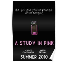 A Study In Pink poster Poster